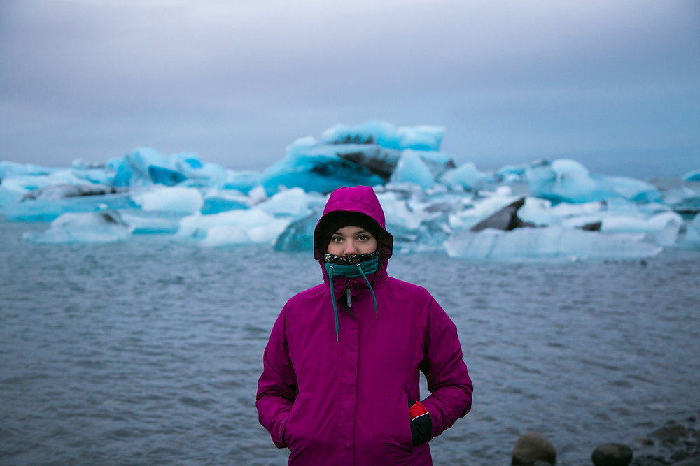 A rain jacket is an essential on your Iceland packing list