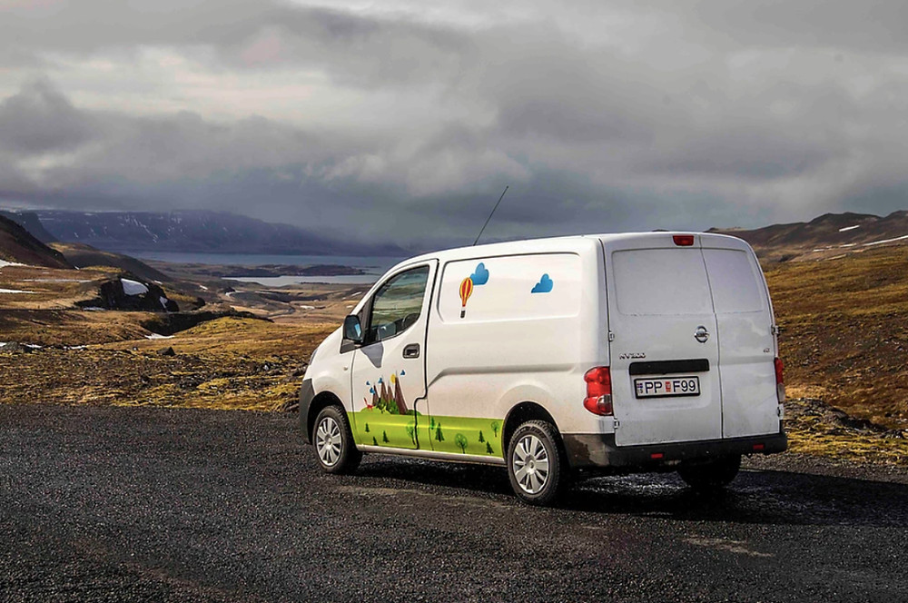 Driving safely in Iceland is vital for your camper rental