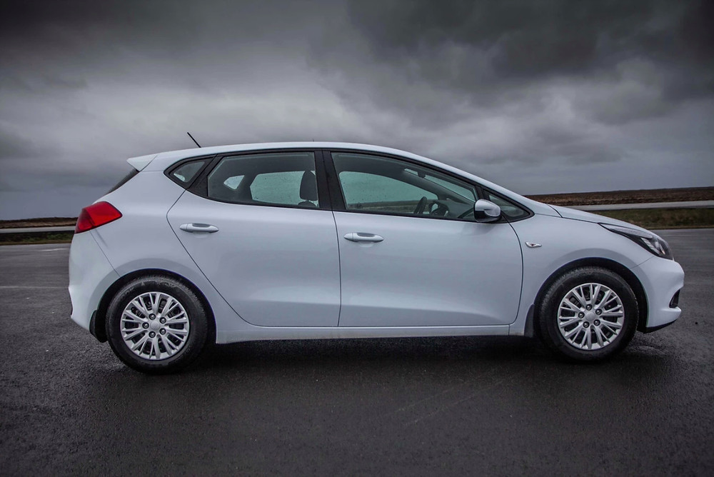 The Kia Ceed is one of the best road trip cars due to comfort and style