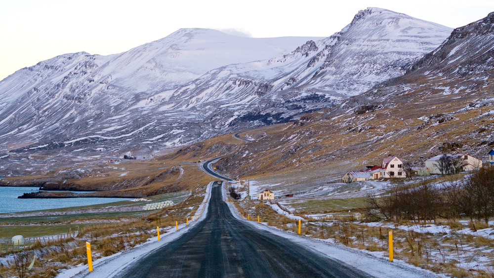 Iceland's Ring Road during campervan rental road trip