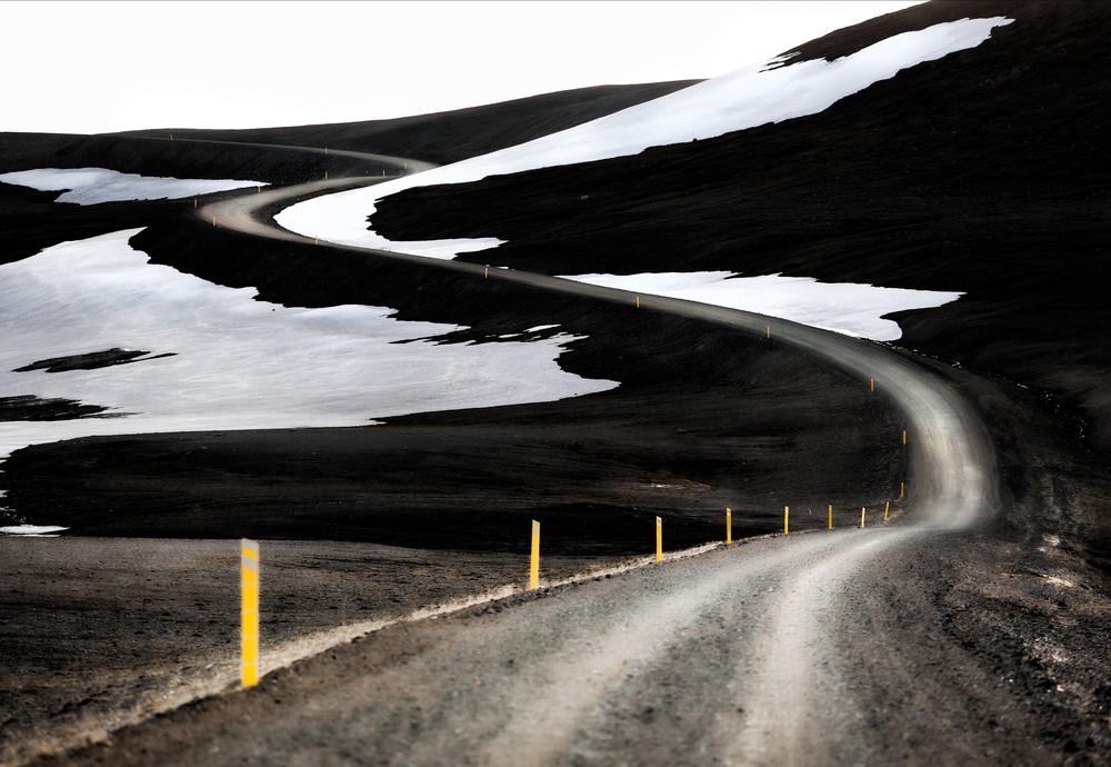 Iceland F-roads (mountain roads) like F 901