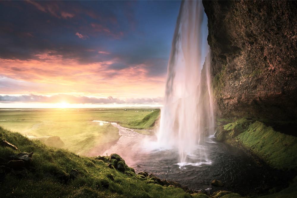 Seljalandsfoss is Iceland's most beautiful waterfall