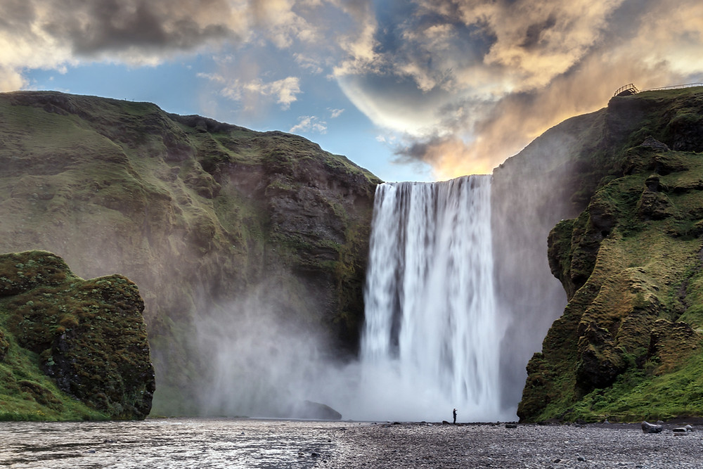 Skogafoss is one of the best Iceland waterfalls