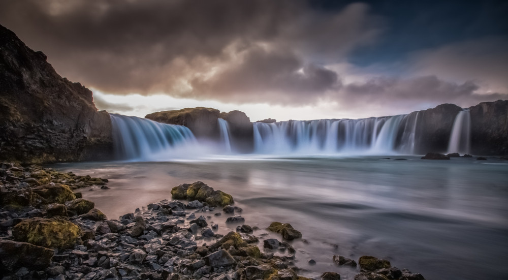 Godafoss is one of the top things to do when traveling Iceland by campervan