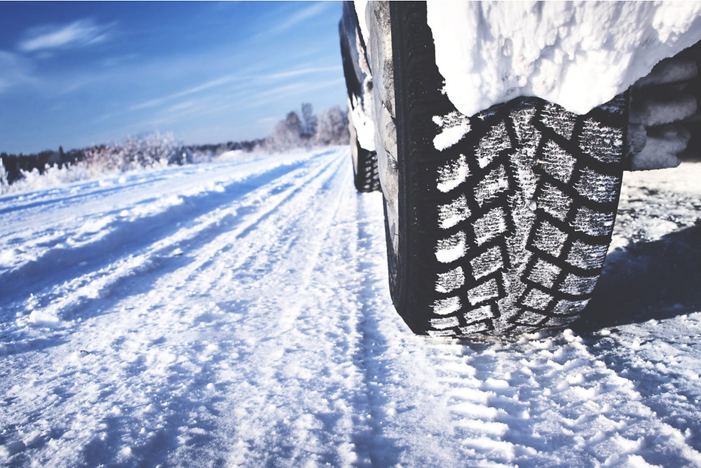 Snow tires in Iceland and tread