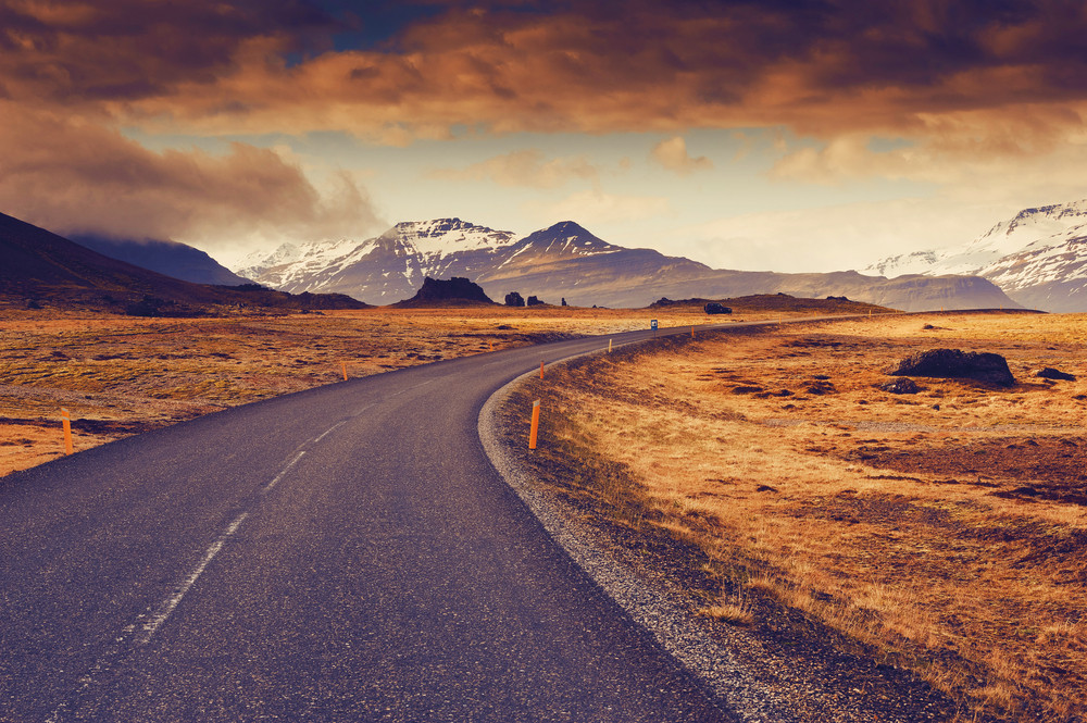 Iceland's Ring Road is perfect for planning an Iceland campervan road trip