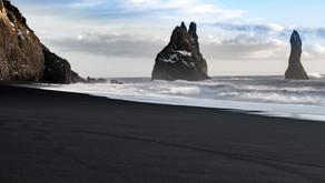 Vik's Volcanic Black Sand Beaches
