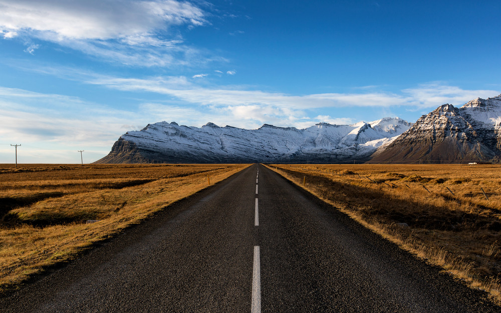 RV rental in Iceland on the Ring Road