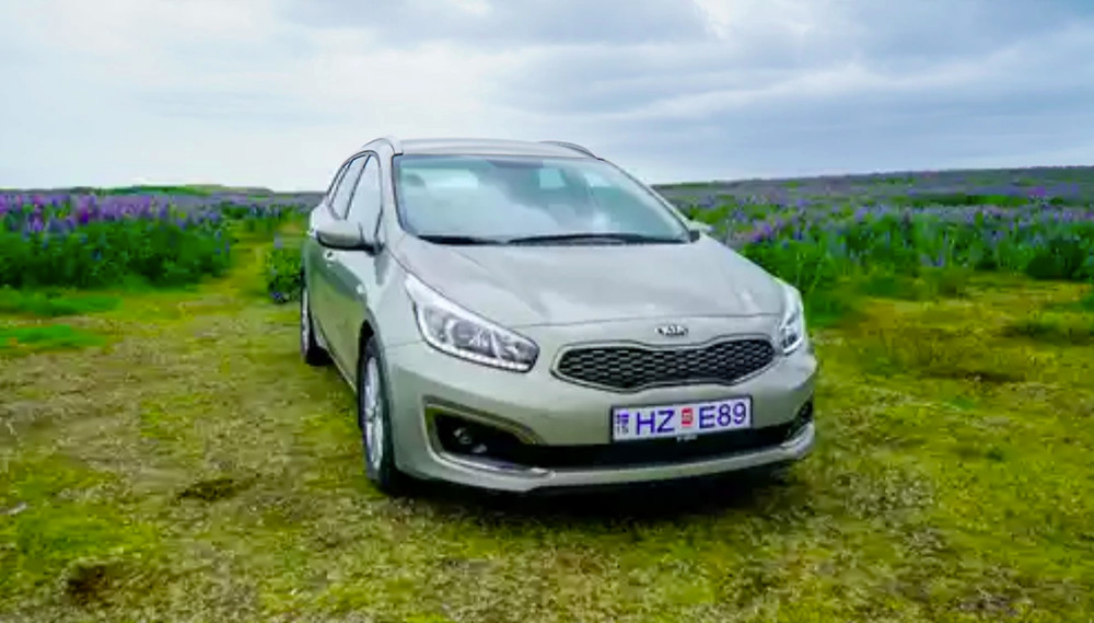 The Kia Ceed Sportswagon is one of the best road trip cars for families