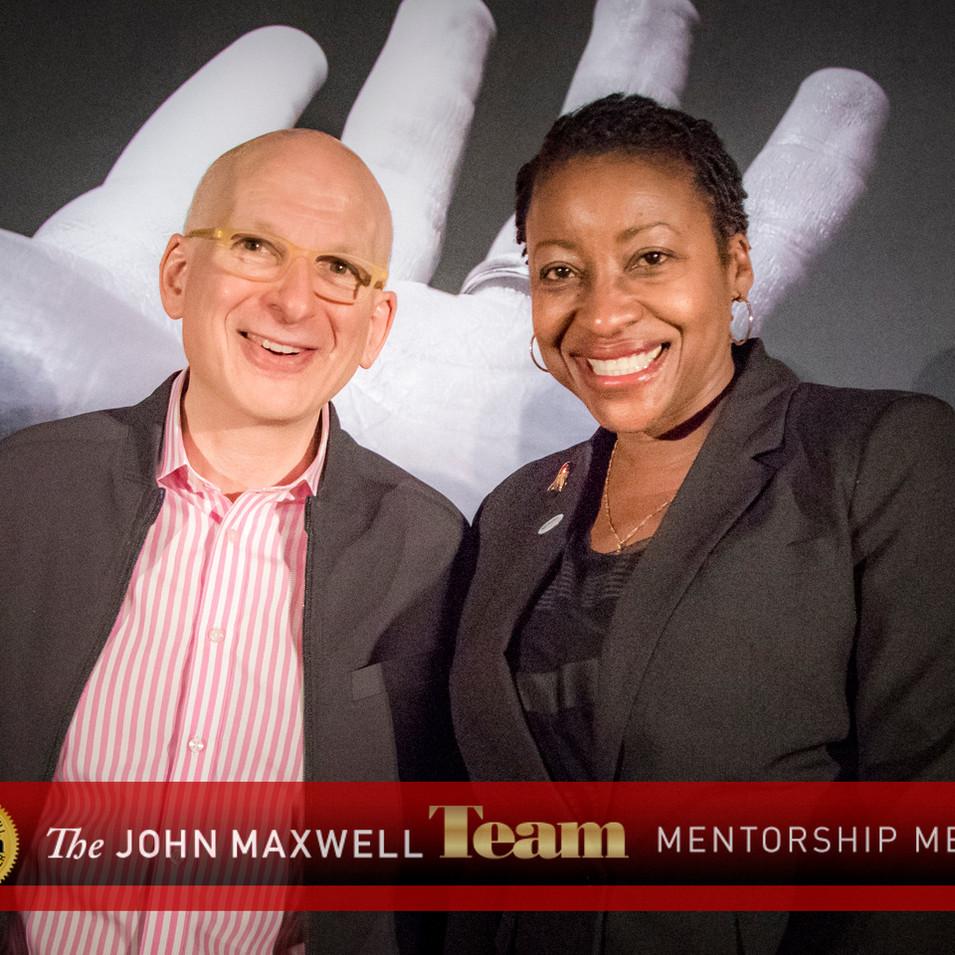 Dr. Hopelyn with Seth Godin