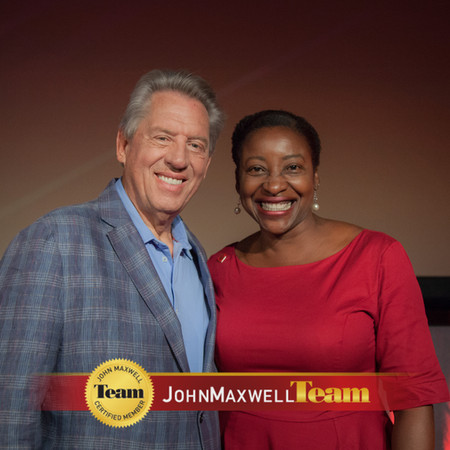 Dr. Hopelyn with John Maxwell