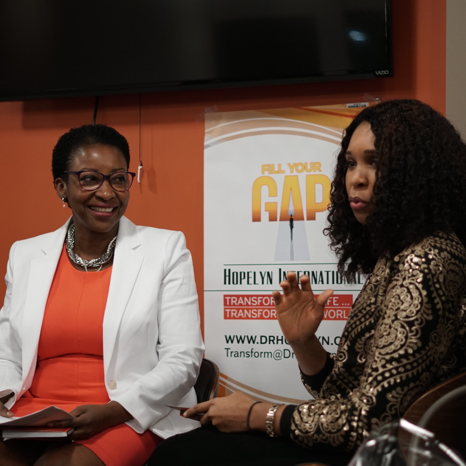 Joy Okparaocha experience at Fill Your GAP Book Release Party
