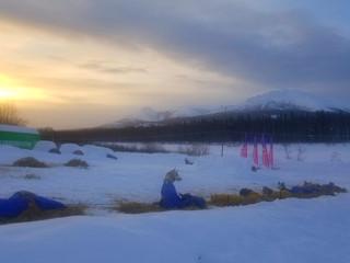 Rookie Iditarod: Takotna - Don's Cabin