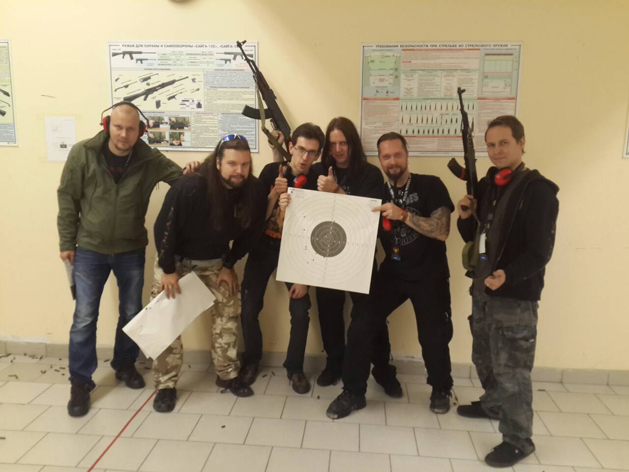 Moscow AK-47 shooting tour