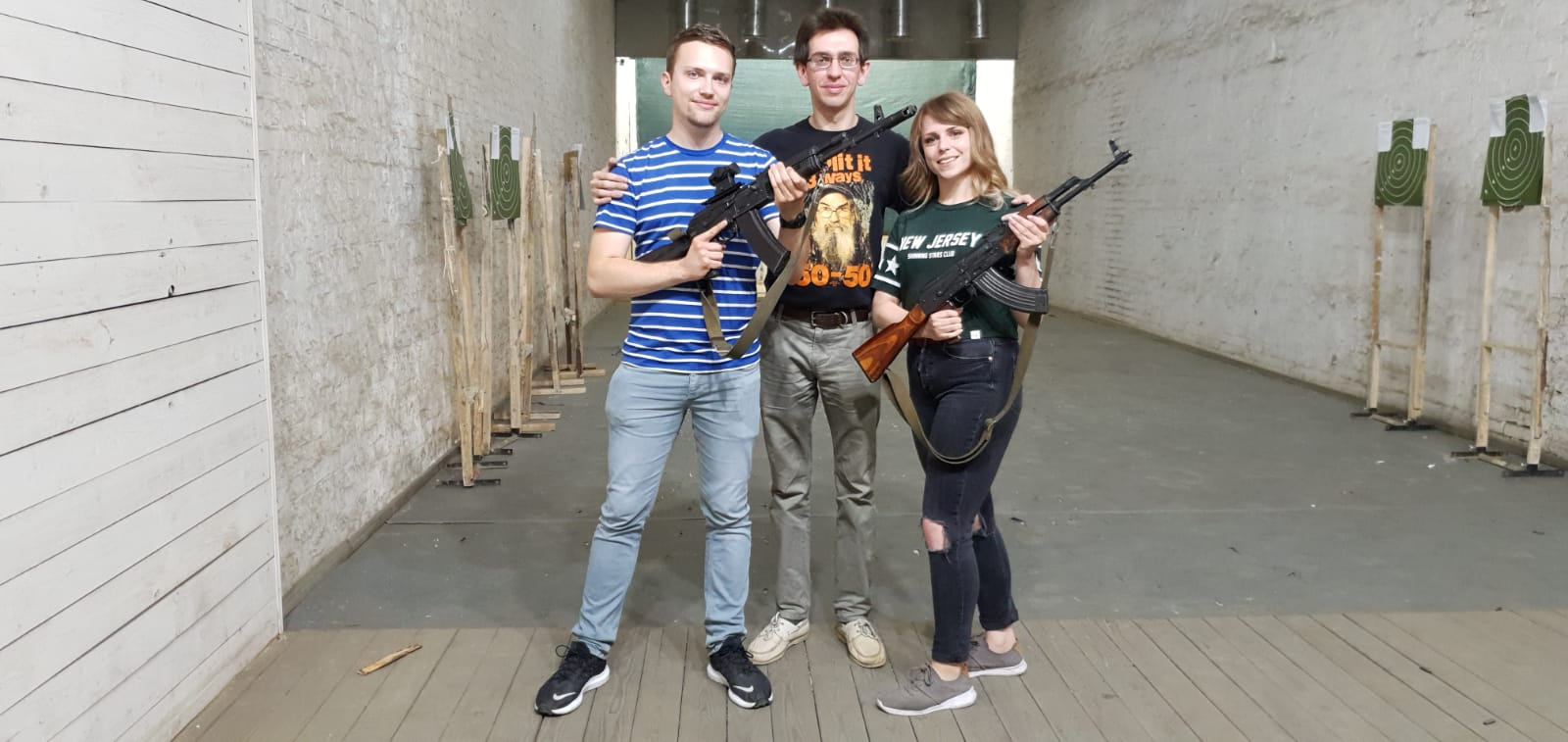 French at MoscowGunTours