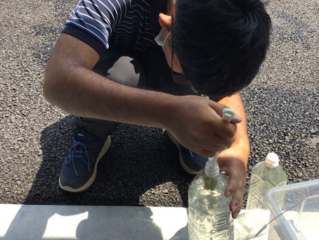 ペットボトル洗浄
