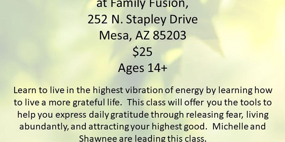 Vibrations of Gratitude