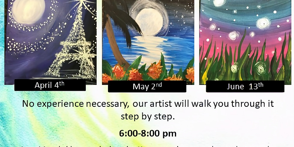 Ladies Paint Night- Tropical Reflections