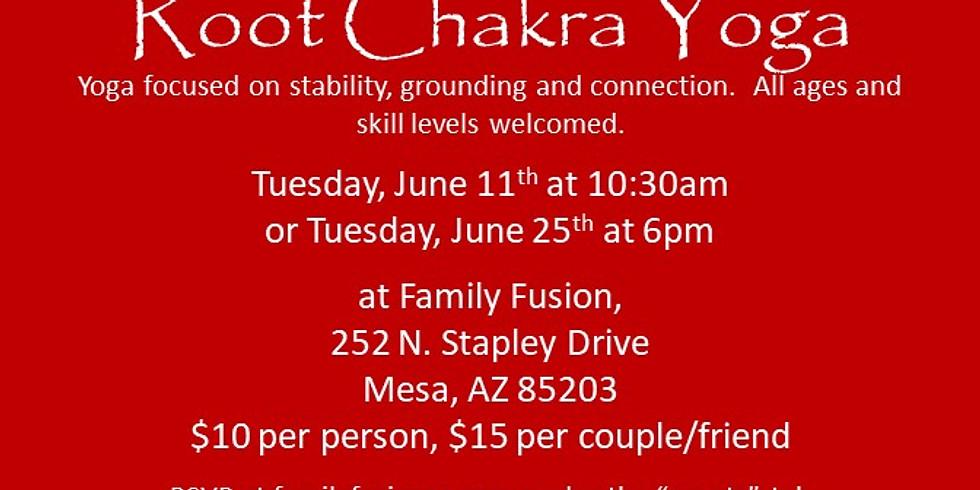 Root Chakra Yoga