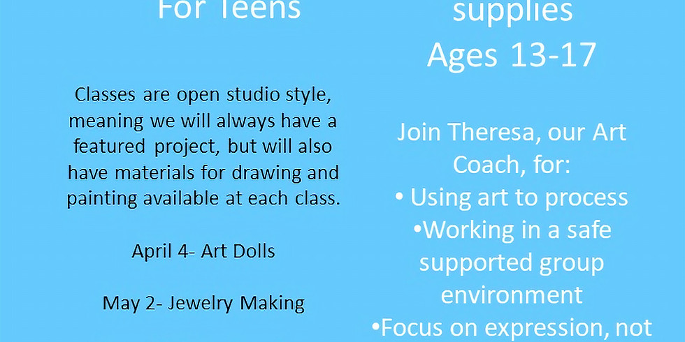 Heart Space for Teens- Jewelry Making