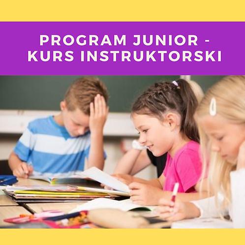 Program JUNIOR - kurs instruktorski