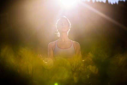 Natura wpływa na medytację