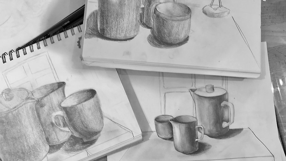 Beginners Structural Drawing (6 Weeks) Course  1st June (Ages 11 plus)