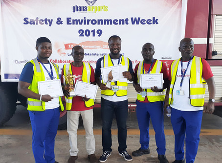 AVIANCE GHANA LIMITED PARTICIPATED IN GHANA AIRPORT COMPANY LIMITED SAFETY WEEK