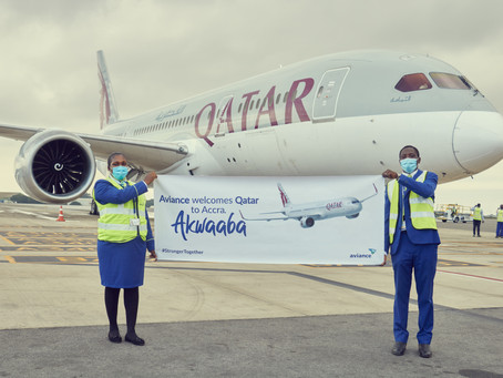 QATAR AIRWAYS FLIES TO ACCRA