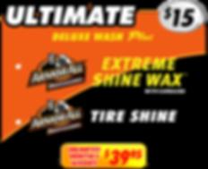 Ultimate Wash $15