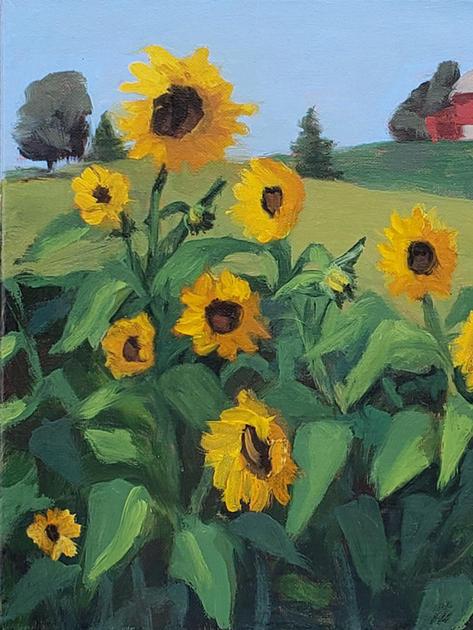 Oil on canvas 12x16
