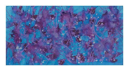Moon Violet Magic Giclee Print 1100 x 610