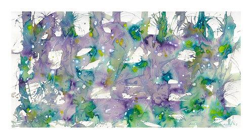 The Garden Pond Giclee Print 1100 x 606