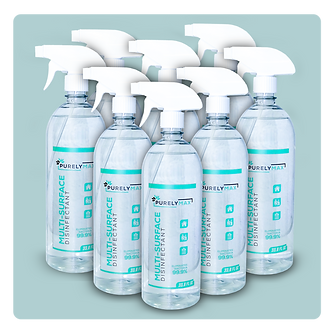 33.8 Oz Multi-Surface Cleaner 8 Pcs
