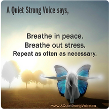 A Quiet Strong Voice Facebook