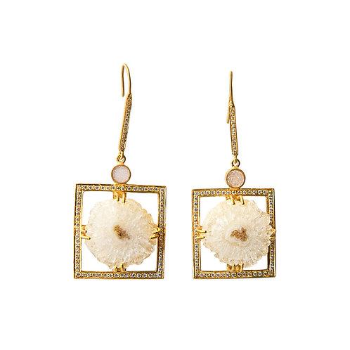 Dressy Druzy Earrings