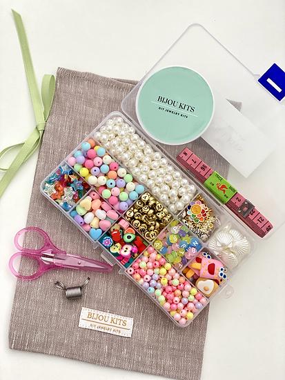 Pastels & (Faux) Pearls Kit