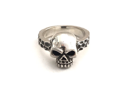 Skull Band Ring