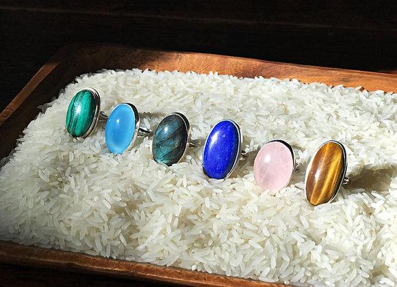 Gemstone Statement Rings