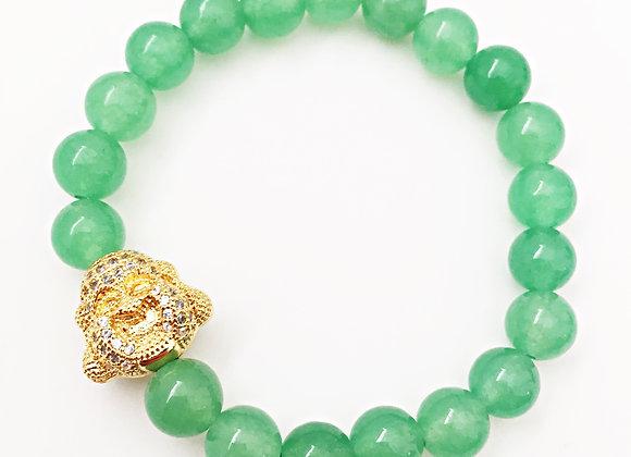 Aventurine Laughing Buddha Bracelet