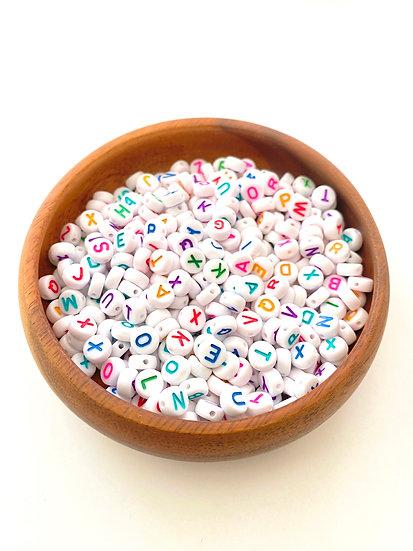 Acrylic Rainbow Letters