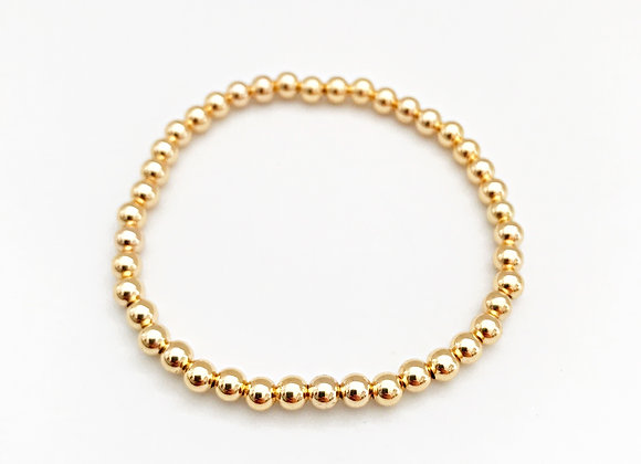 Gold Filled Bead Bracelets