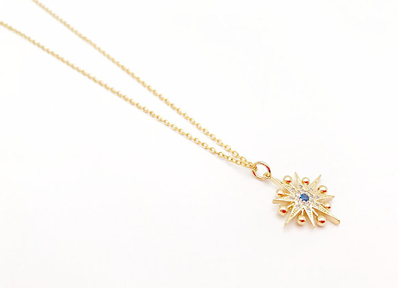North Star Gold Necklace