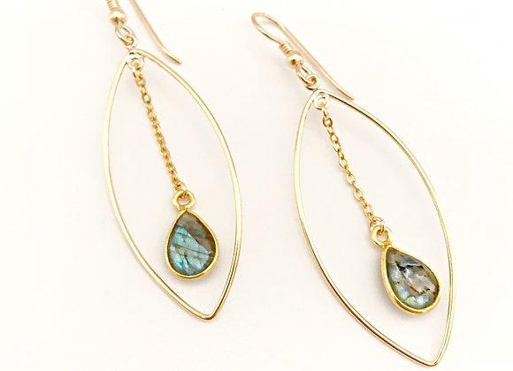 Pod Pendulum Earrings