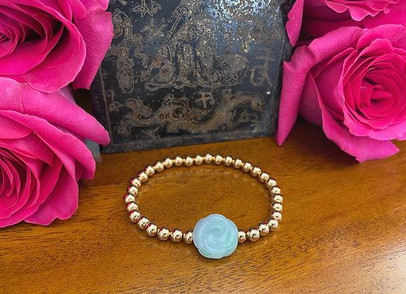 Jade Rose Bracelet