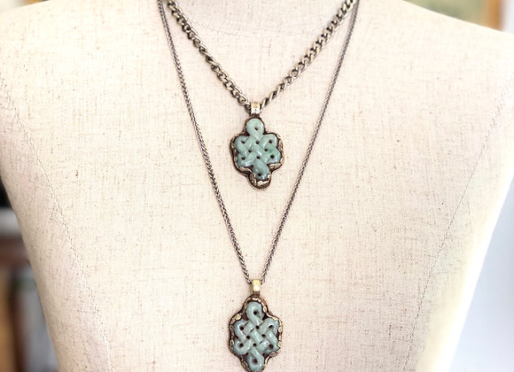 Jade Infinity Necklace
