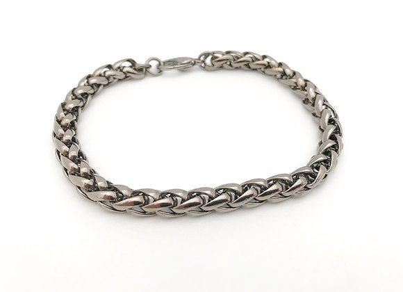 Gunmetal Chain Bracelet