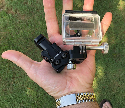 gopro chainn link fence mount