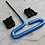 Thumbnail: 10x Button Head Blacked Out Steel Screws and Custom Wrench Kit