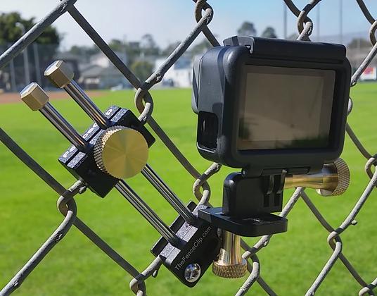 FenceClip V5 with GoPro Hero V Black. Get Great Game Film
